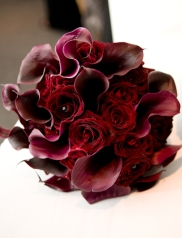 Sasha's callas and Baccarat roses